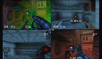 turok rage wars nintendo 64 multiplayer