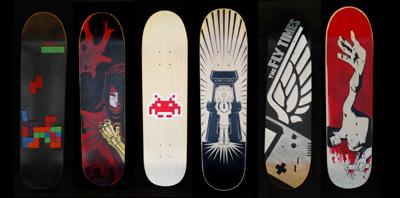 video game skateboards