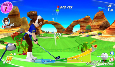 wii love golf chun-li