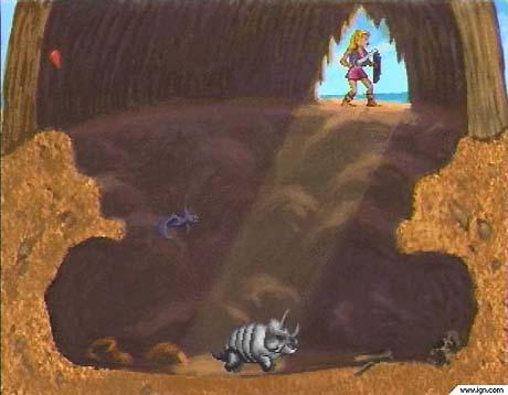 zelda wand of gamelon gameplay screenshot