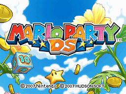 mario party ds title screen