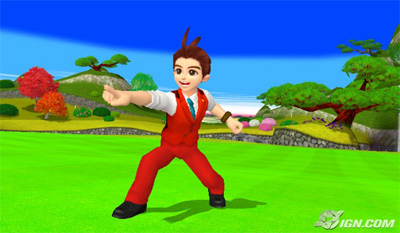 apollo justice wii love golf