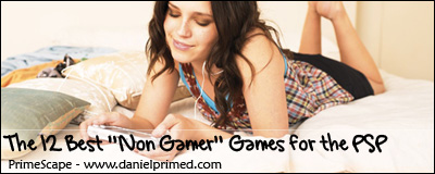 casual gamer psp games