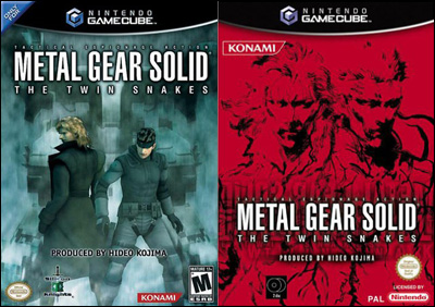 metal gear solid twin snakes box art