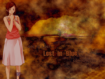 lost in blue konami wallpaper