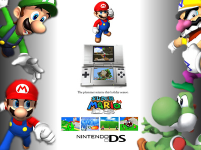super mario 64 ds wallpaper