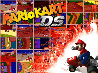 mario kart ds wallpaper