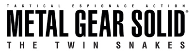 metal gear solid the twin snakes logo