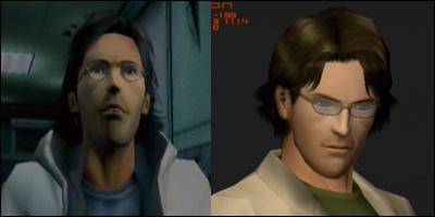 otacon face model comparison