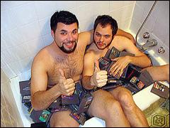 fanboys in a bath tub