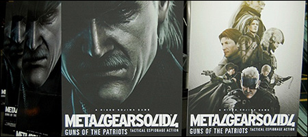metal gear solid 4 poster