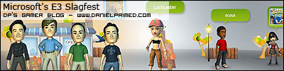 xbox 360 avatar based interface