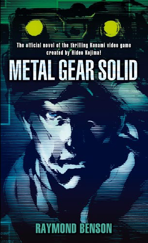 metal gear solid novel