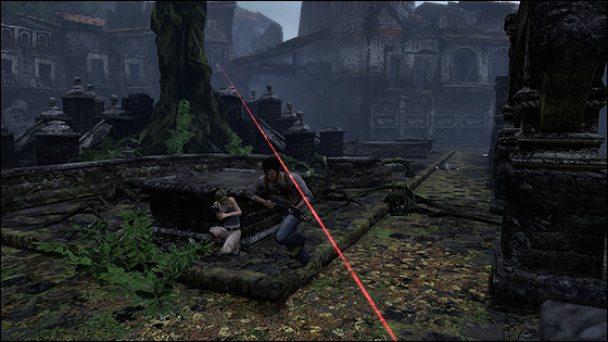 Uncharted-laser-sight